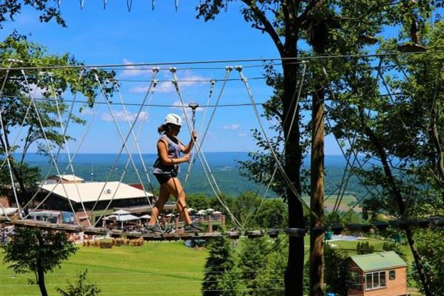 Picture of High Ropes Course & Adventure Tower- Up To 10 People