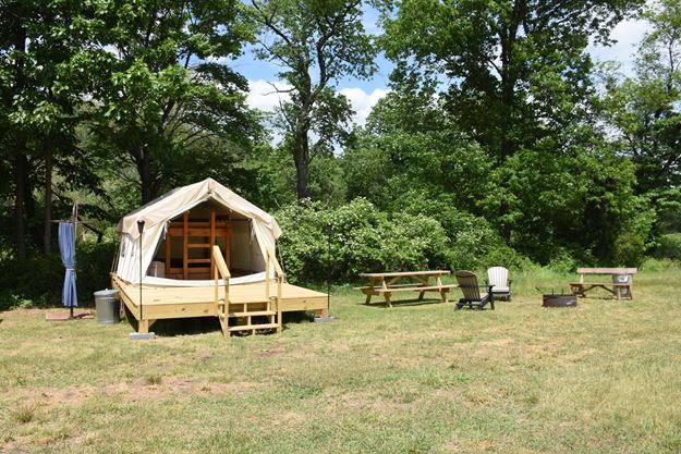Picture of Creekside Camp East Glamping Site (Peak Friday-Saturday)