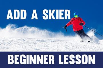 Picture of Add Skier- Beginner Lesson
