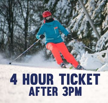Picture of 4 Hour Night Lift Ticket (Must Start After 3pm)