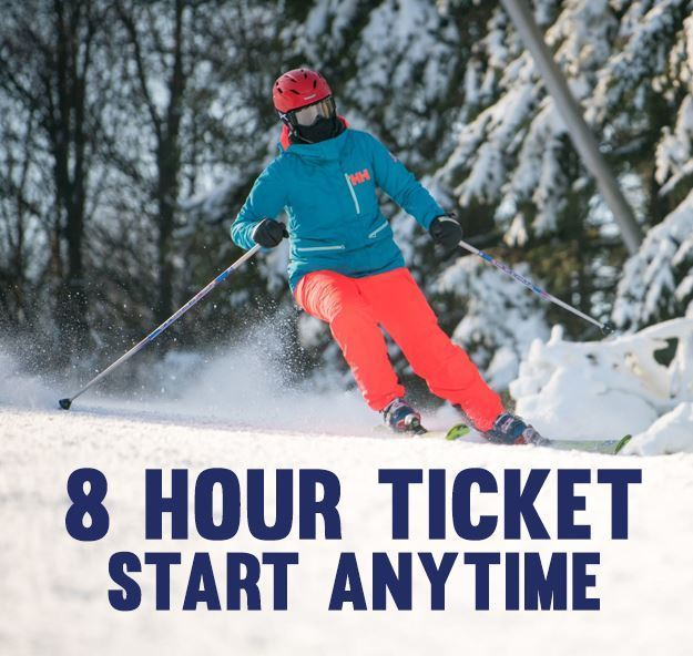 Picture of 8 Hour Lift Ticket (Start at Anytime)