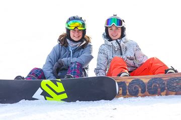 Picture of Beginner Lesson- 1st Person Snowboard